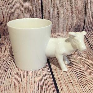 Cow Mug Cup Planter Ceramic
